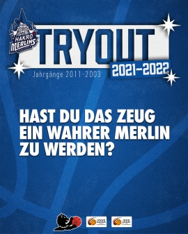 HAKRO Merlins Tryouts 2021/22
